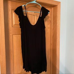 Black torrid swim cover up